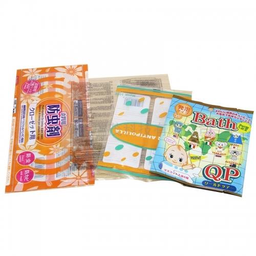 颜色鲜艳的食品包装袋